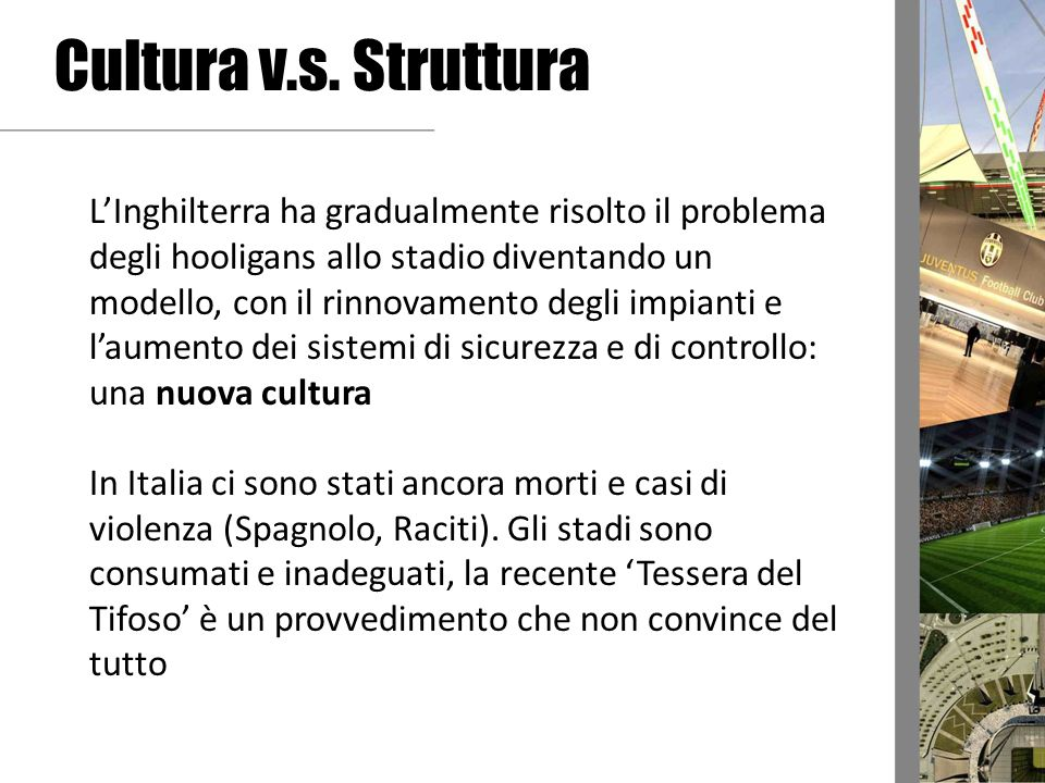 Cultura v.s. Struttura