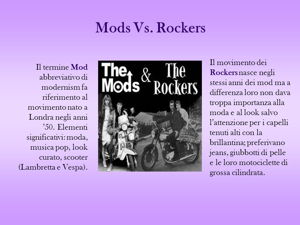 Mods Vs. Rockers