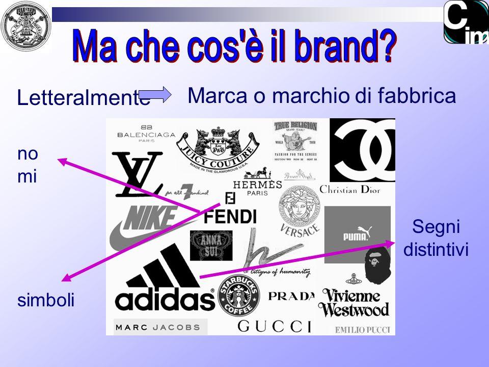 Marca o marchio di fabbrica