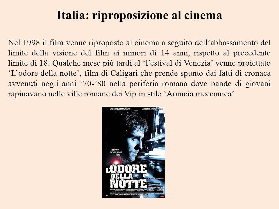 Italia: riproposizione al cinema