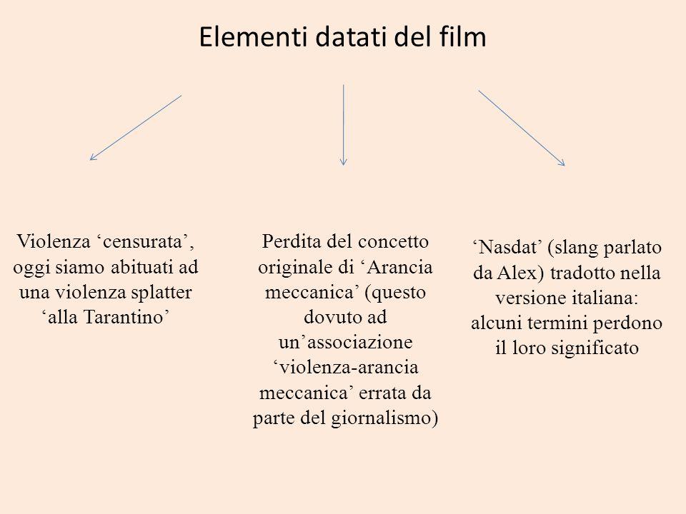 Elementi datati del film