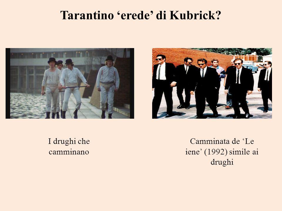 Tarantino 'erede' di Kubrick