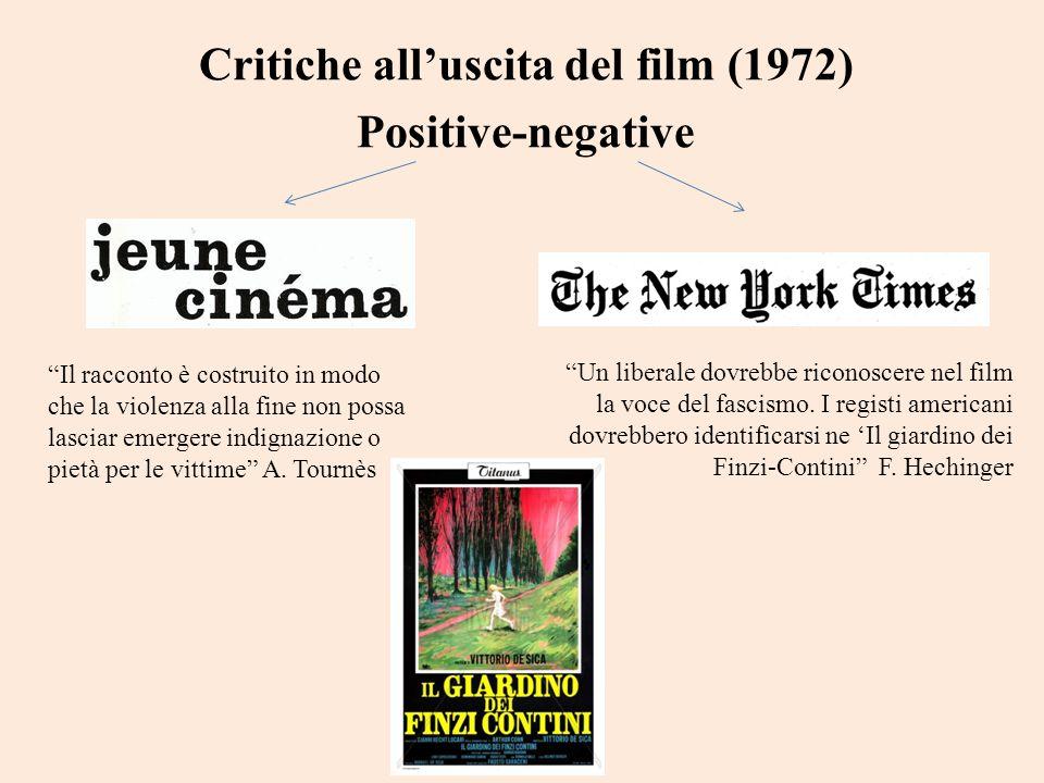 Critiche all'uscita del film (1972)