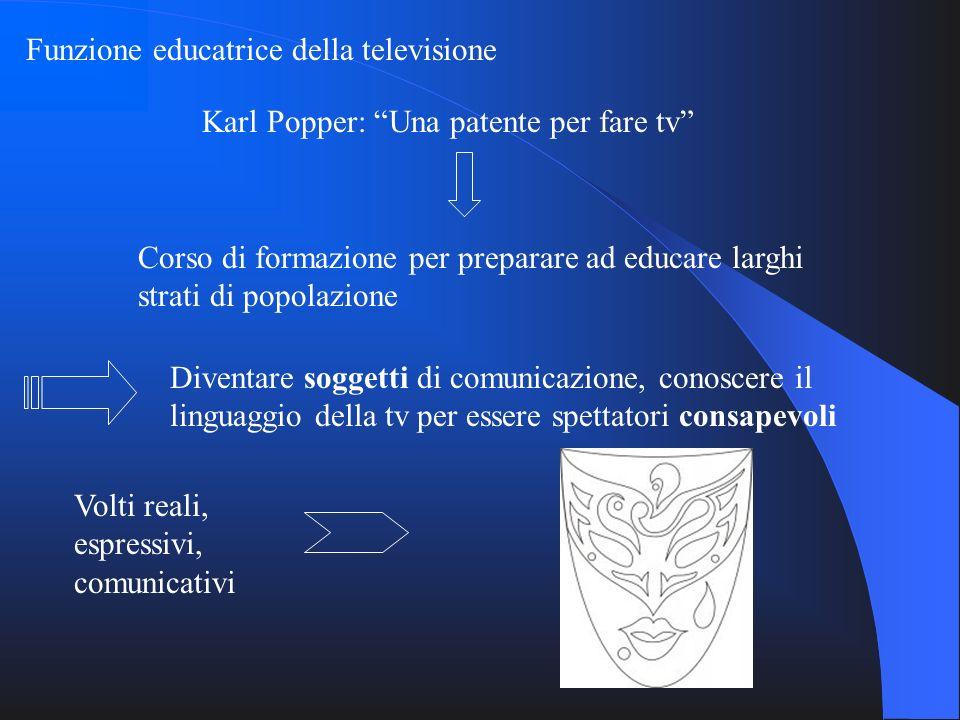 Funzione educatrice della televisione