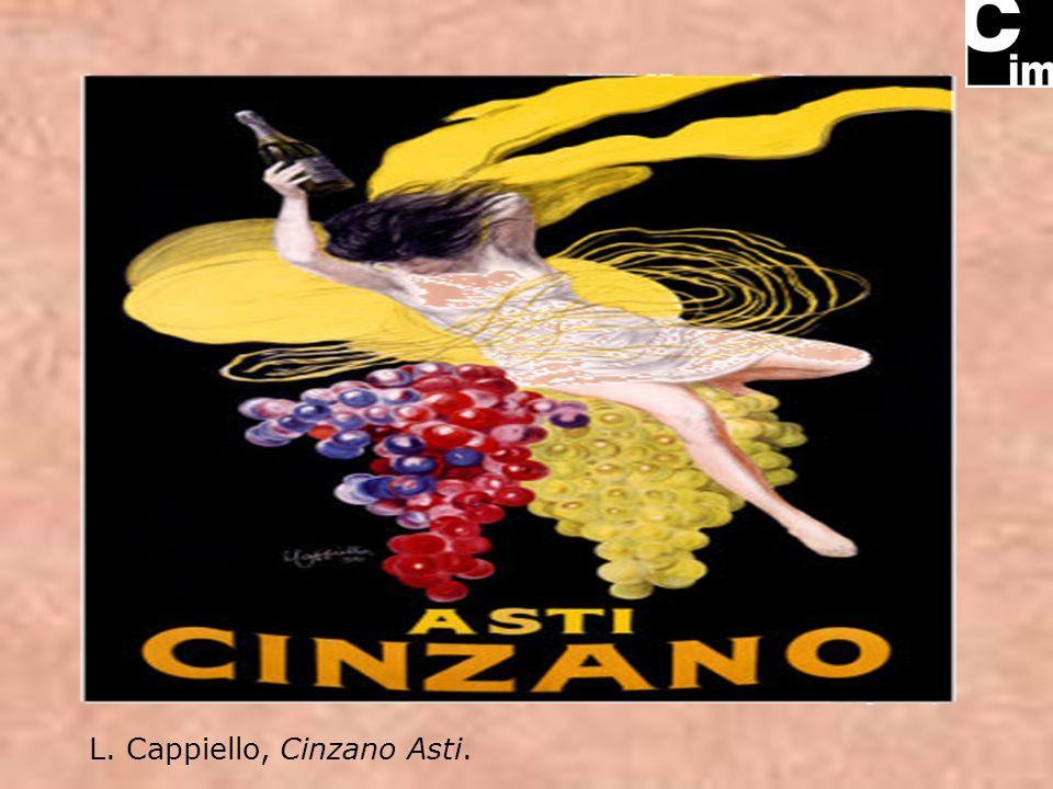 L. Cappiello, Cinzano Asti.