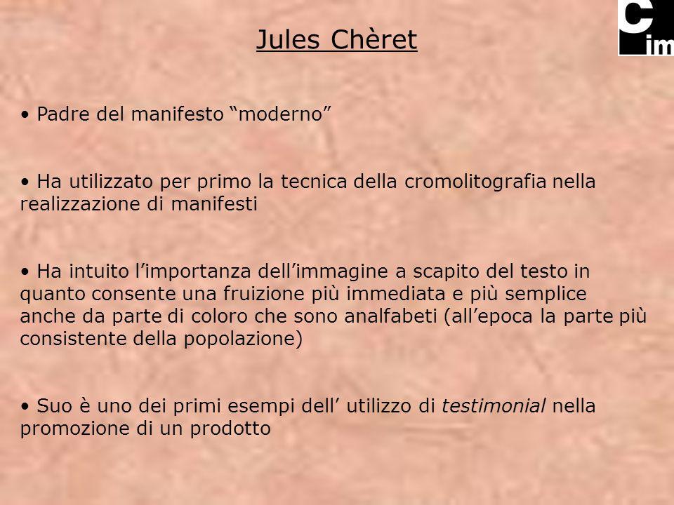 Jules Chèret Padre del manifesto moderno