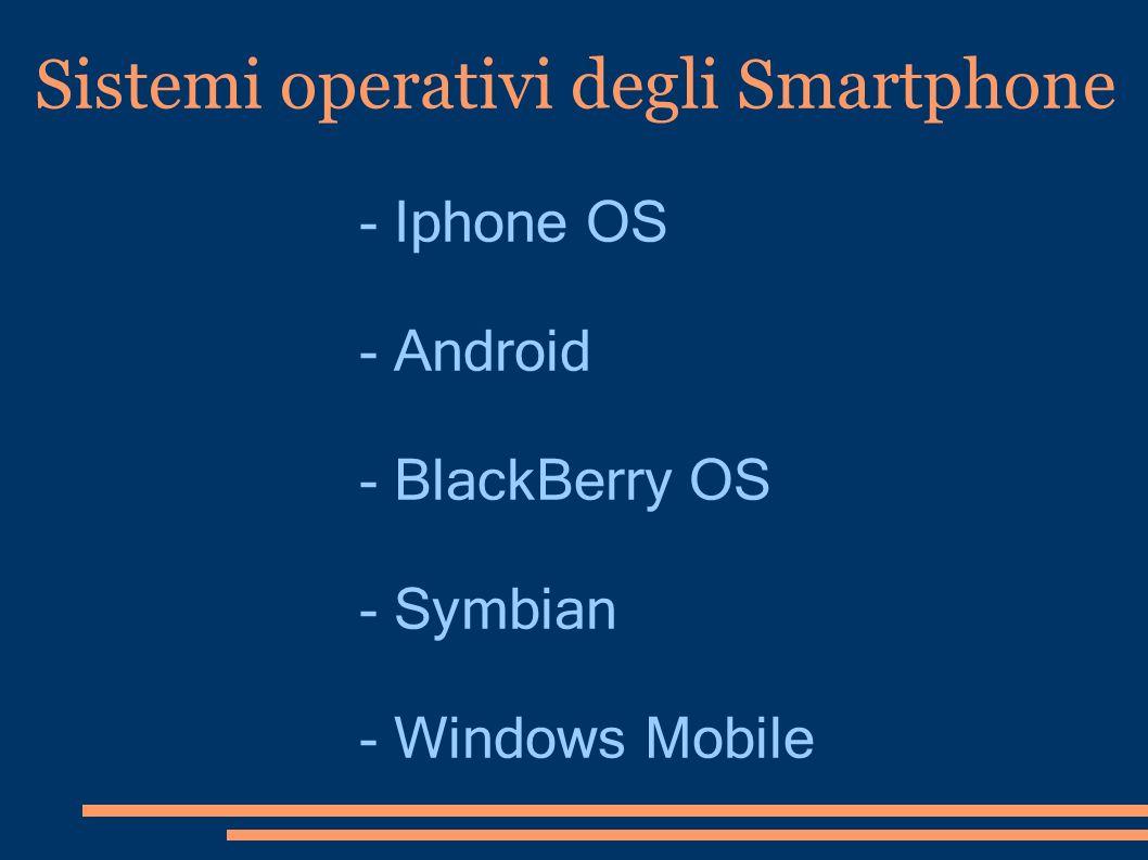 Sistemi operativi degli Smartphone