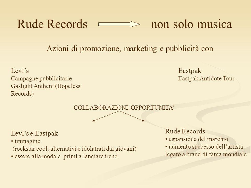 Rude Records non solo musica