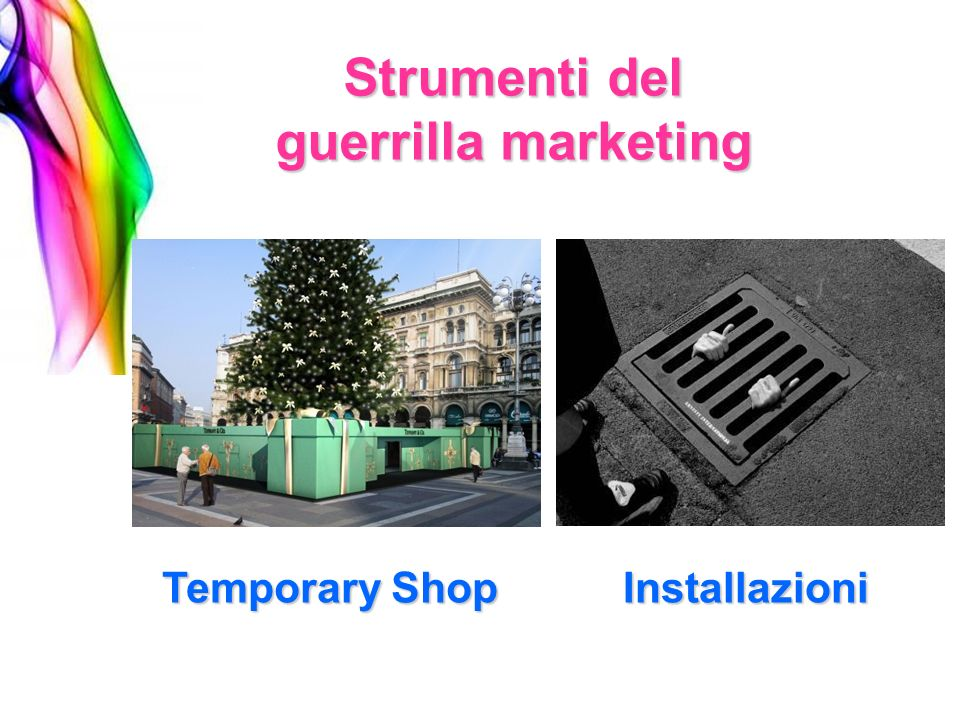 Strumenti del guerrilla marketing