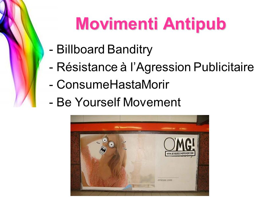 Movimenti Antipub Billboard Banditry