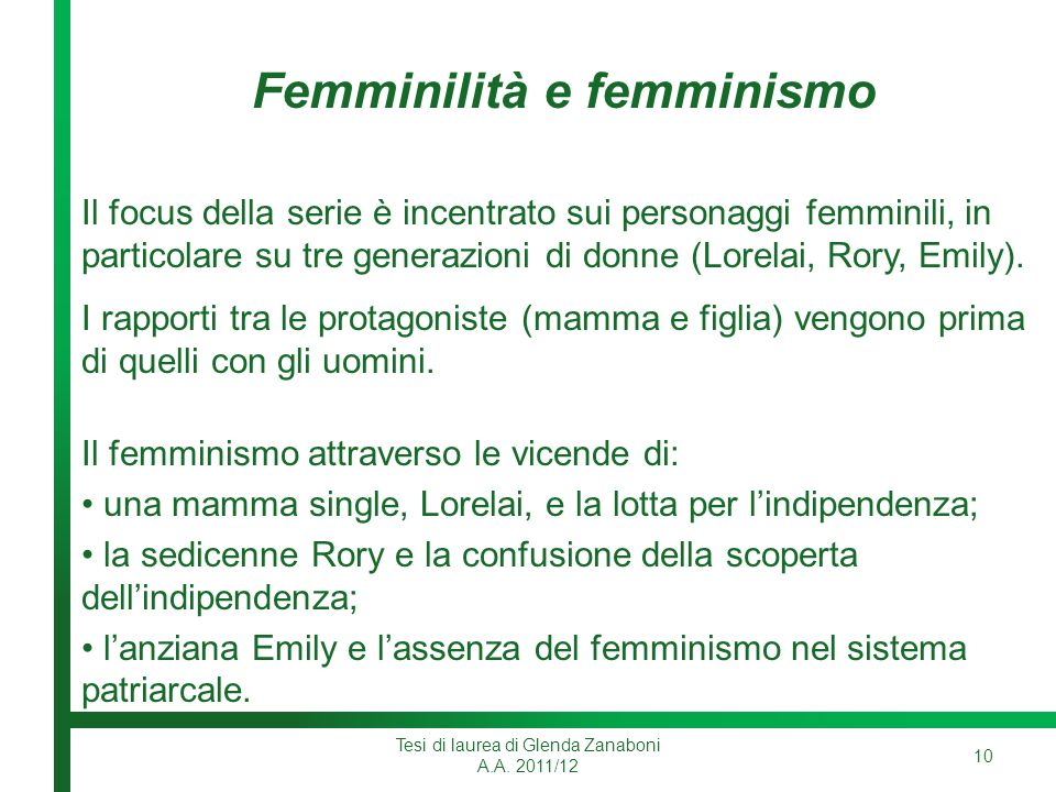 Femminilità e femminismo