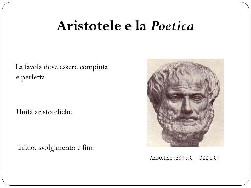 Aristotele e la Poetica