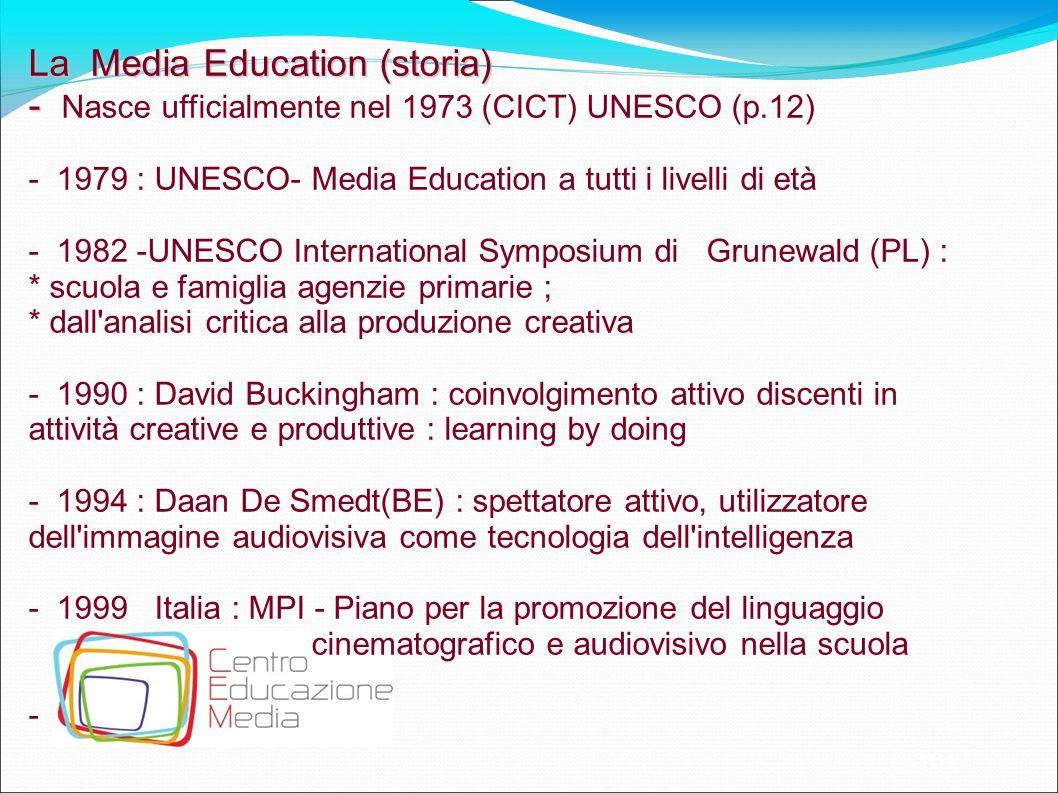 La Media Education (storia)