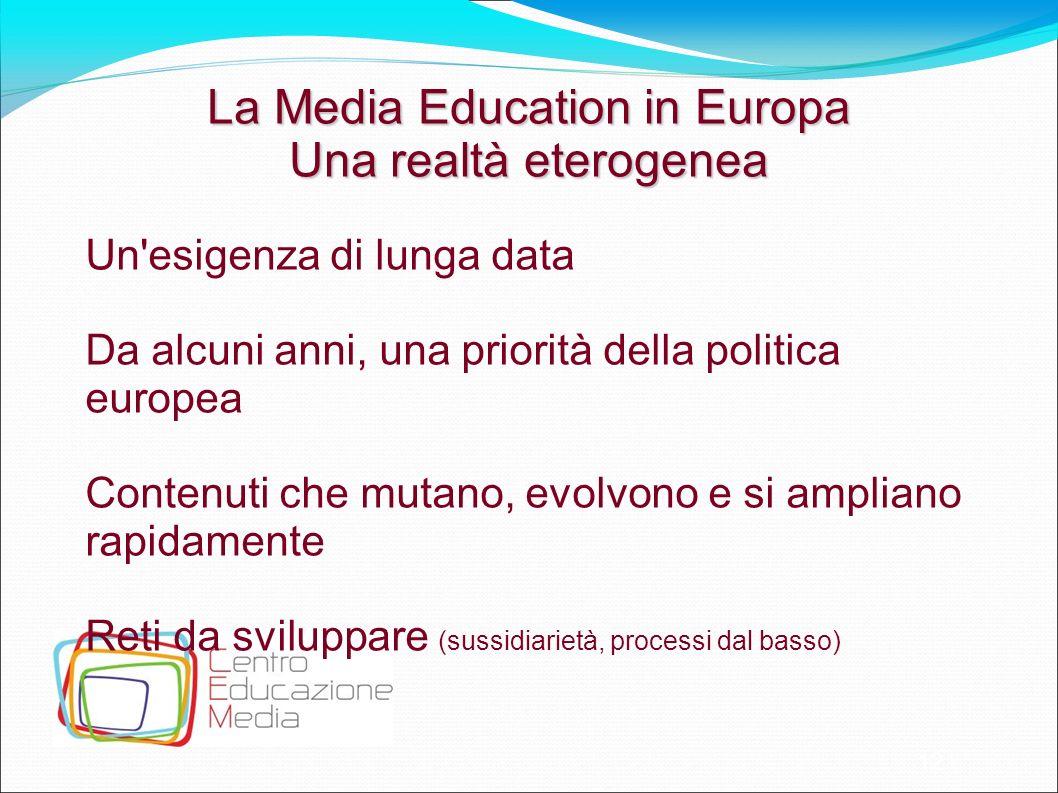 La Media Education in Europa