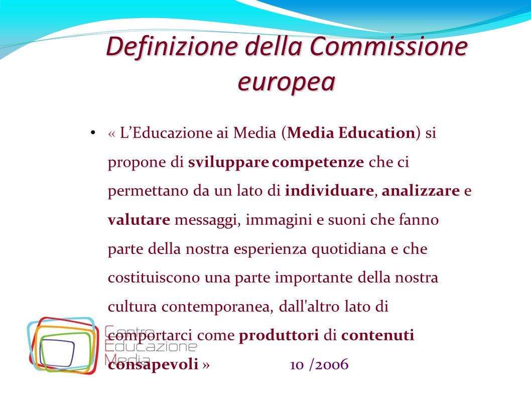 Definizione della Commissione europea