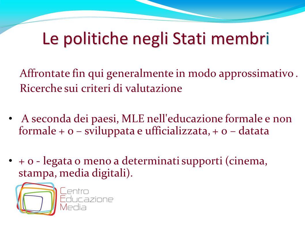Le politiche negli Stati membri
