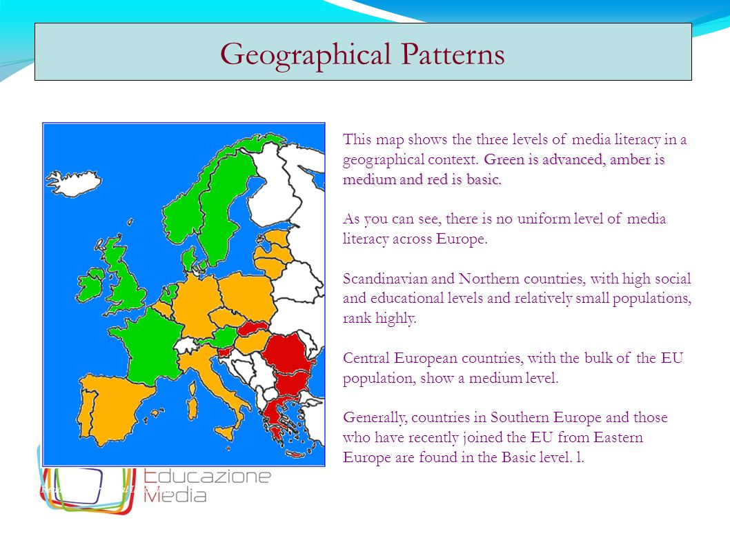 Geographical Patterns