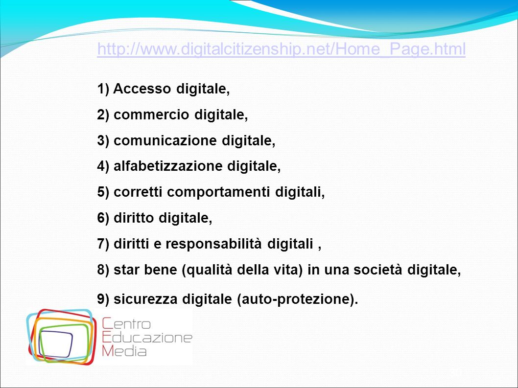 http://www.digitalcitizenship.net/Home_Page.html Accesso digitale,