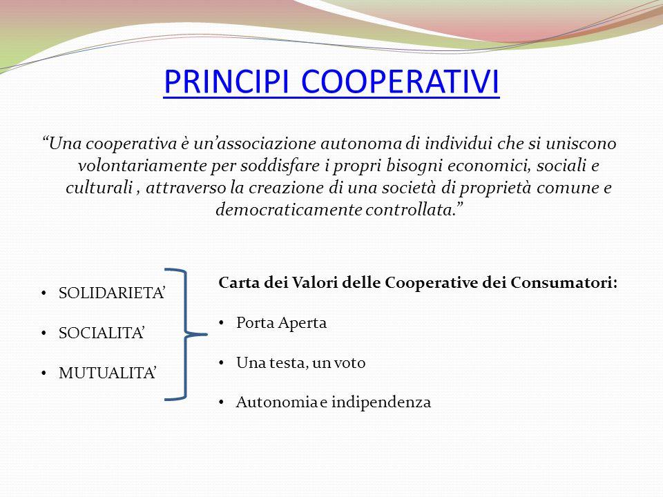 PRINCIPI COOPERATIVI