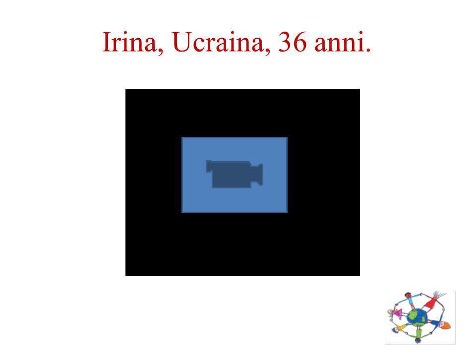 Irina, Ucraina, 36 anni.
