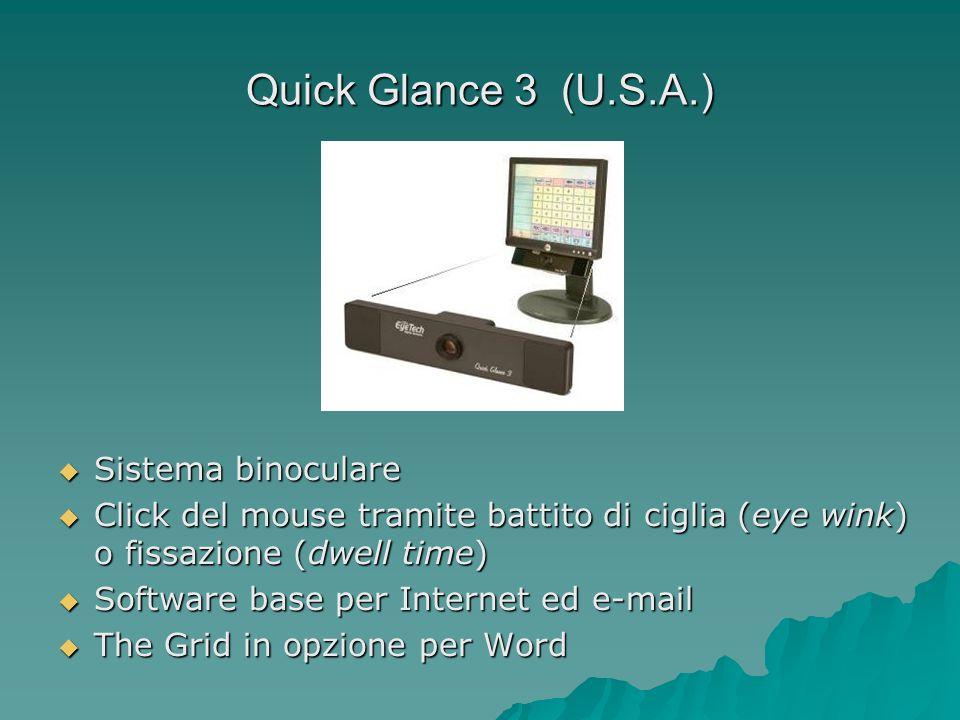Quick Glance 3 (U.S.A.) Sistema binoculare
