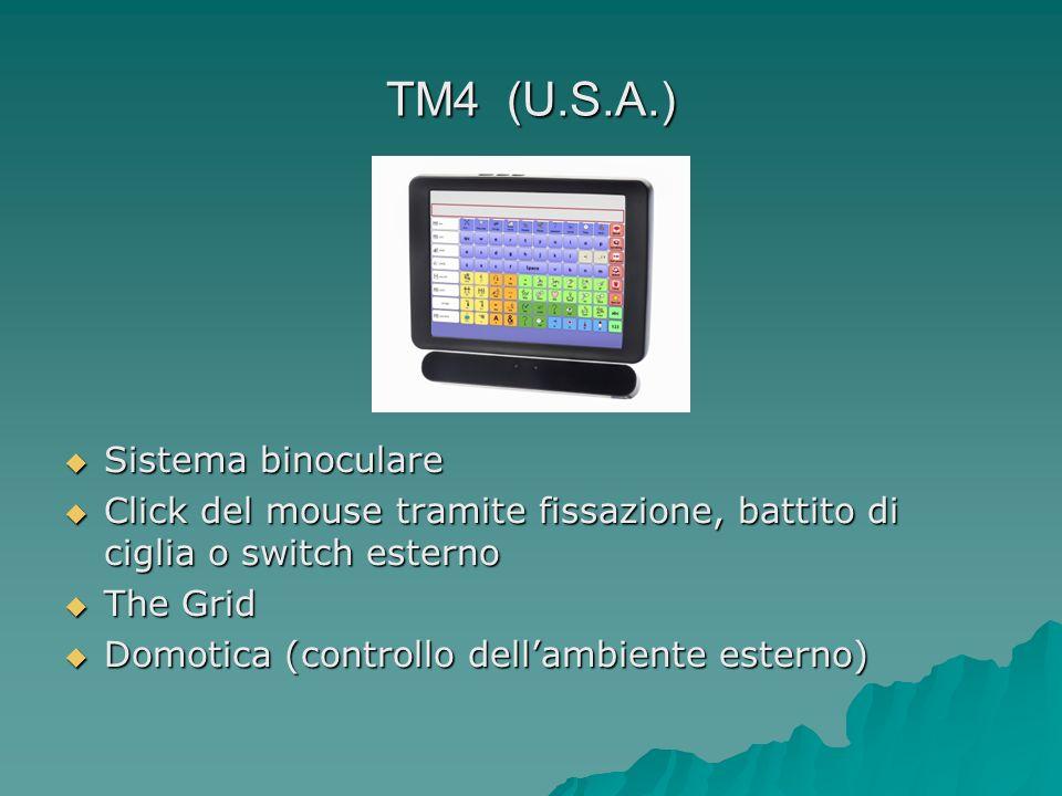 TM4 (U.S.A.) Sistema binoculare