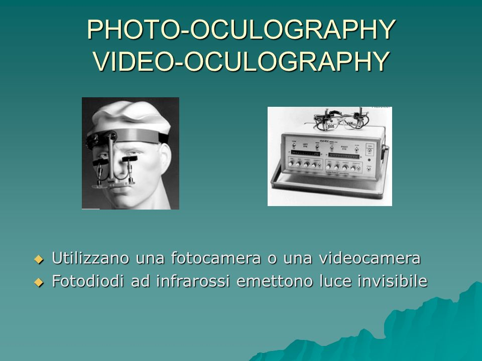 PHOTO-OCULOGRAPHY VIDEO-OCULOGRAPHY