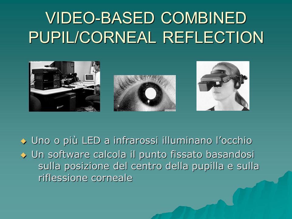 VIDEO-BASED COMBINED PUPIL/CORNEAL REFLECTION