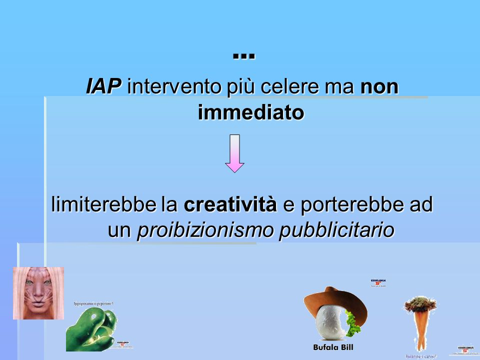 IAP intervento più celere ma non immediato