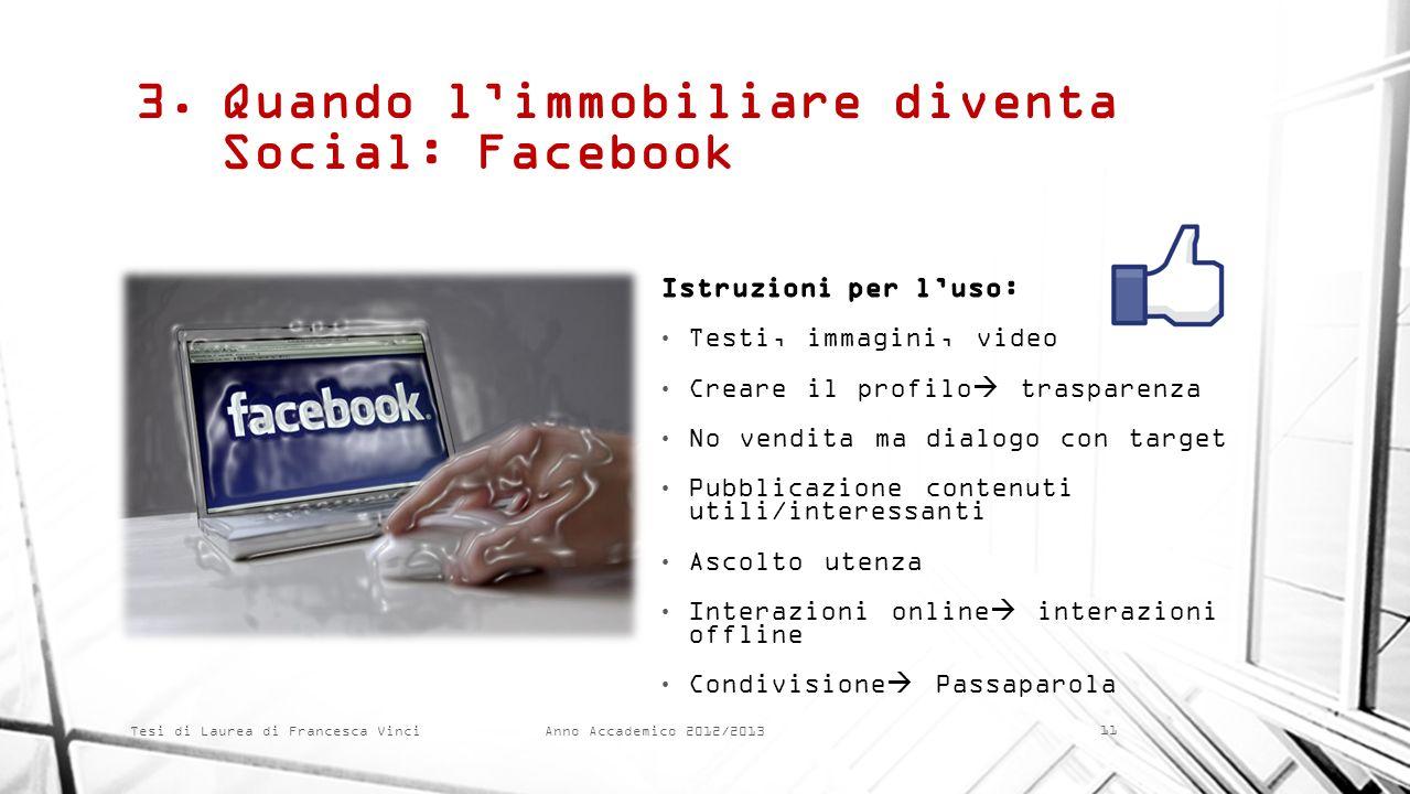 Quando l'immobiliare diventa Social: Facebook