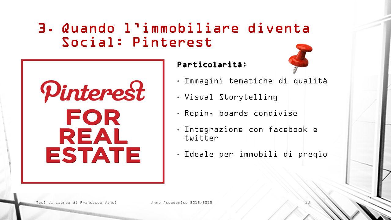 Quando l'immobiliare diventa Social: Pinterest