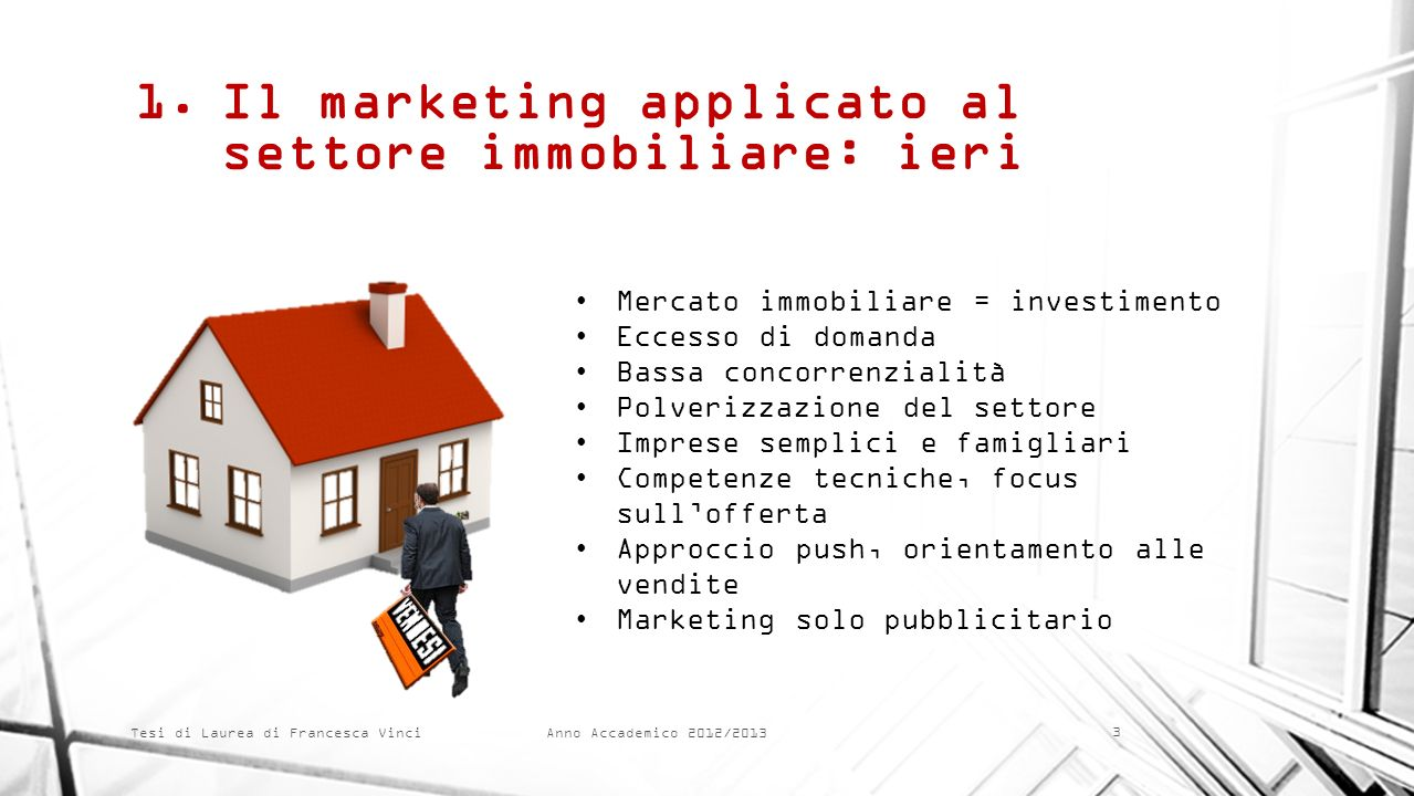 Il marketing applicato al settore immobiliare: ieri