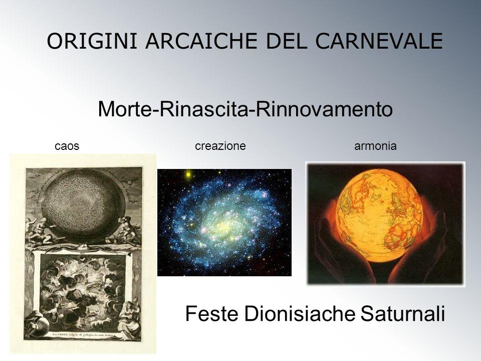 ORIGINI ARCAICHE DEL CARNEVALE