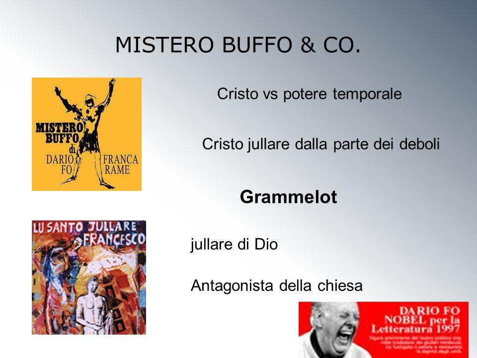 MISTERO BUFFO & CO. Grammelot Cristo vs potere temporale