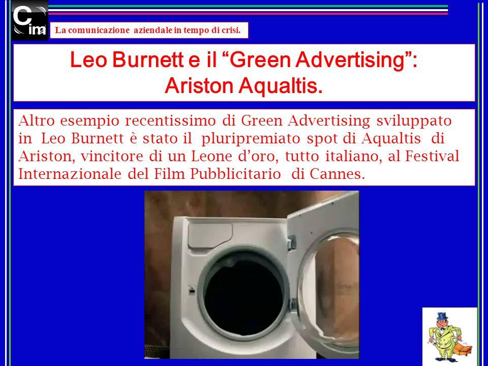 Leo Burnett e il Green Advertising :