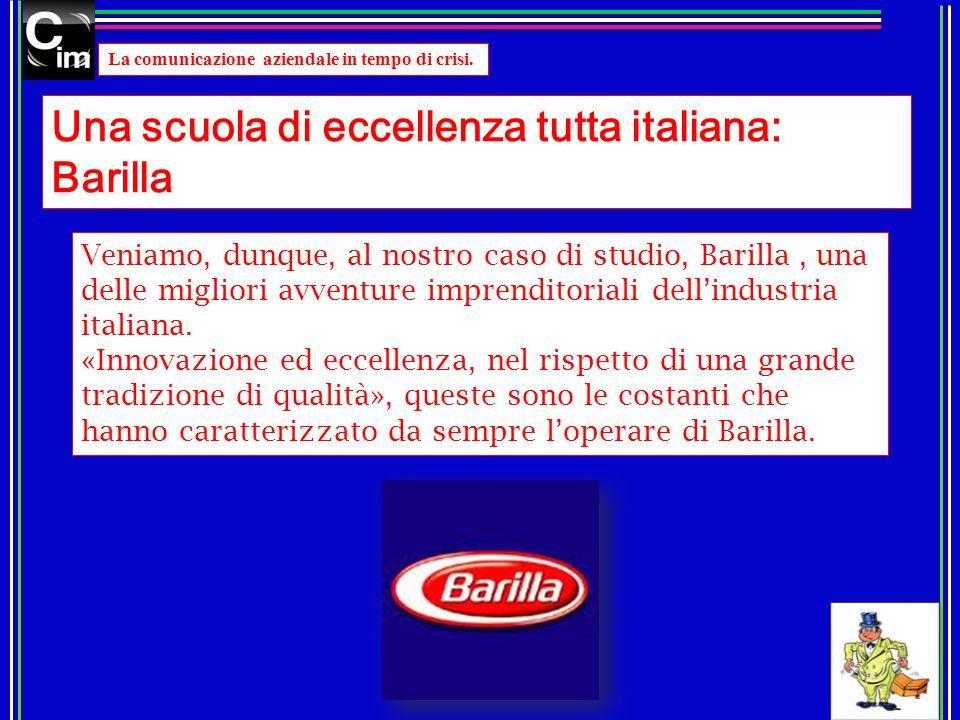 Una scuola di eccellenza tutta italiana: Barilla