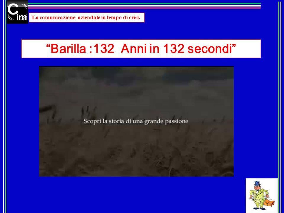 Barilla :132 Anni in 132 secondi