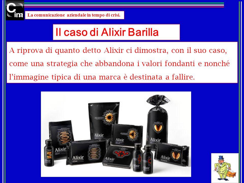 Il caso di Alixir Barilla