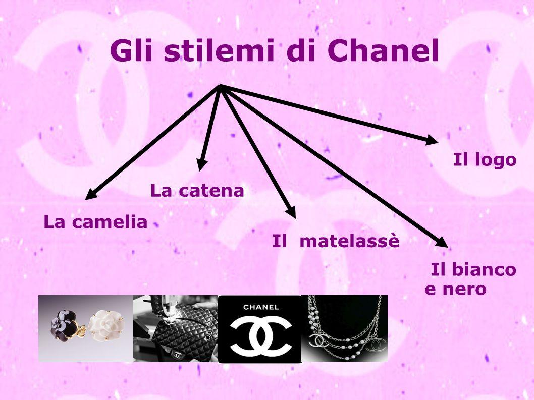 Gli stilemi di Chanel Il logo La catena La camelia Il matelassè