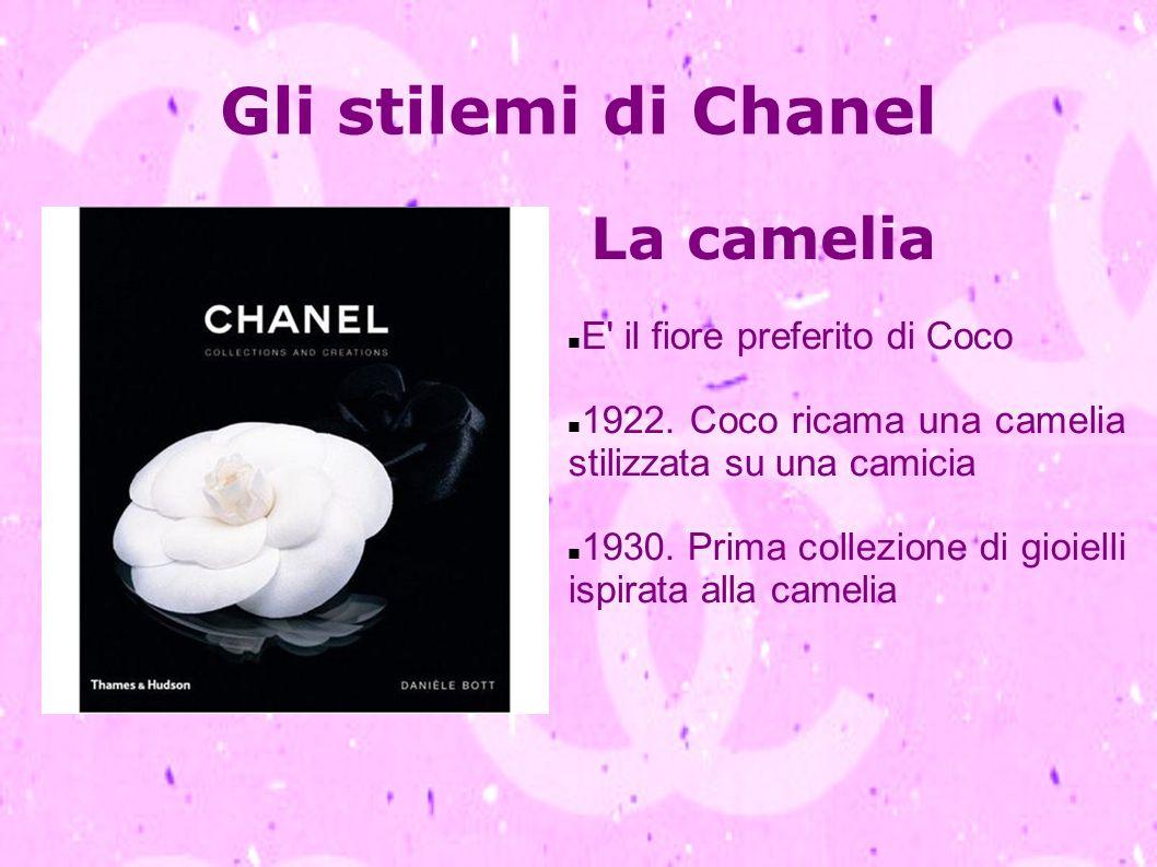 Gli stilemi di Chanel La camelia E il fiore preferito di Coco