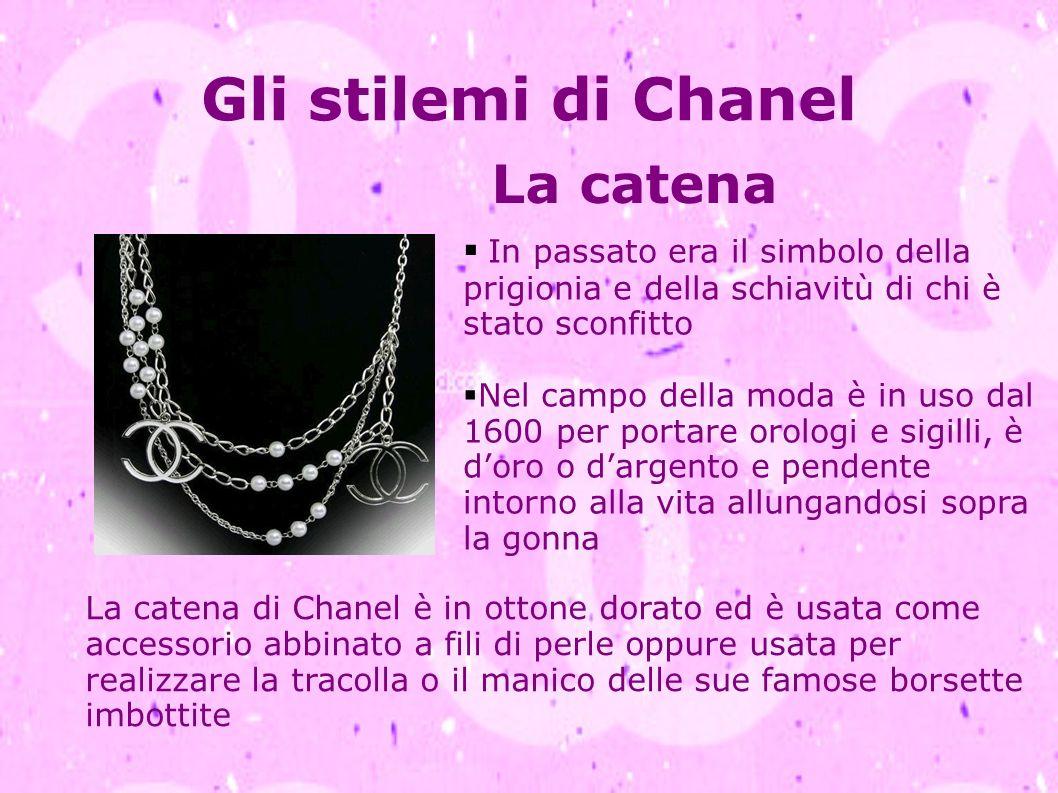 Gli stilemi di Chanel La catena