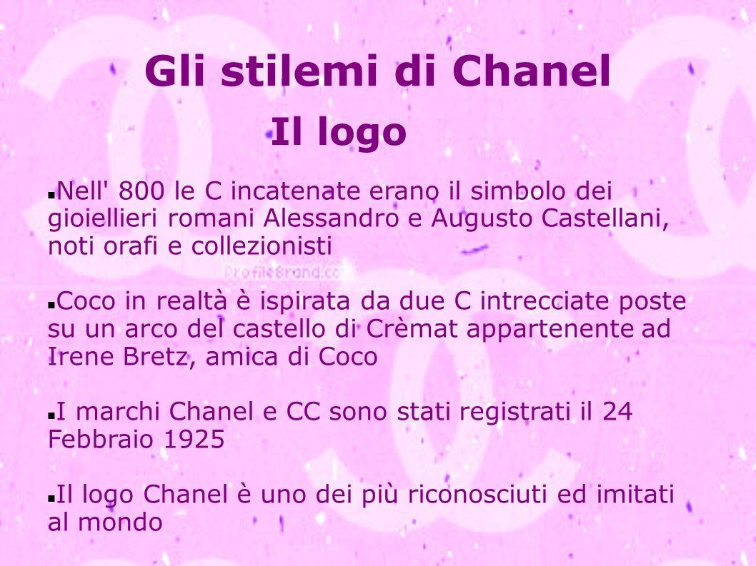 Gli stilemi di Chanel Il logo