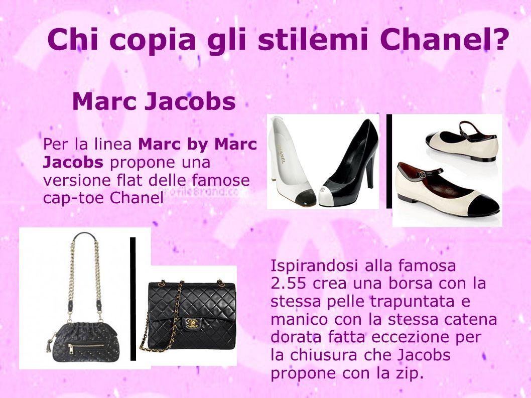 Chi copia gli stilemi Chanel