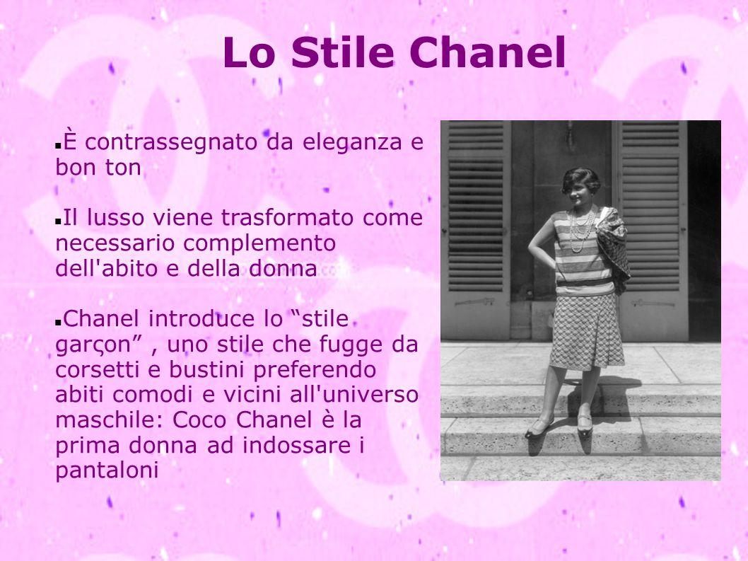 Lo Stile Chanel È contrassegnato da eleganza e bon ton