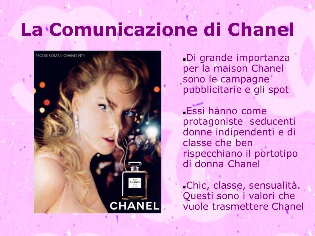 La Comunicazione di Chanel