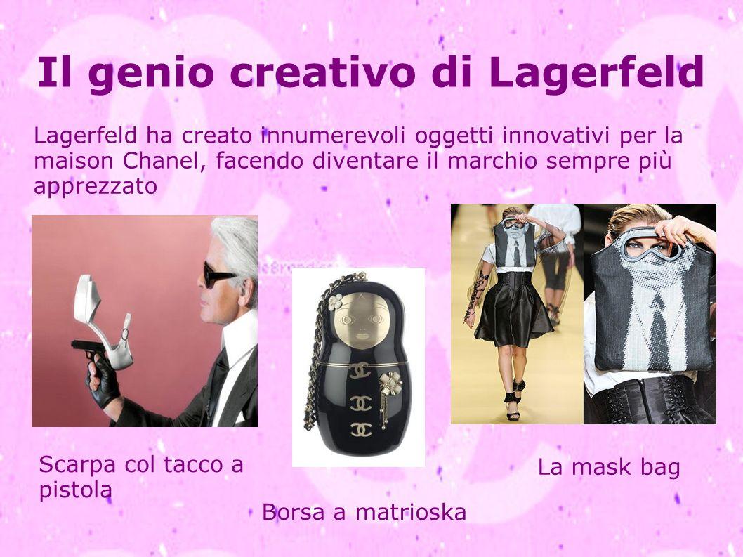 Il genio creativo di Lagerfeld