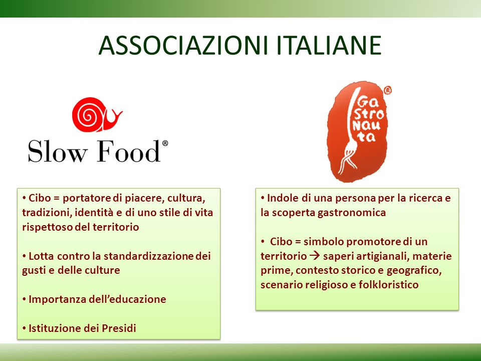 ASSOCIAZIONI ITALIANE