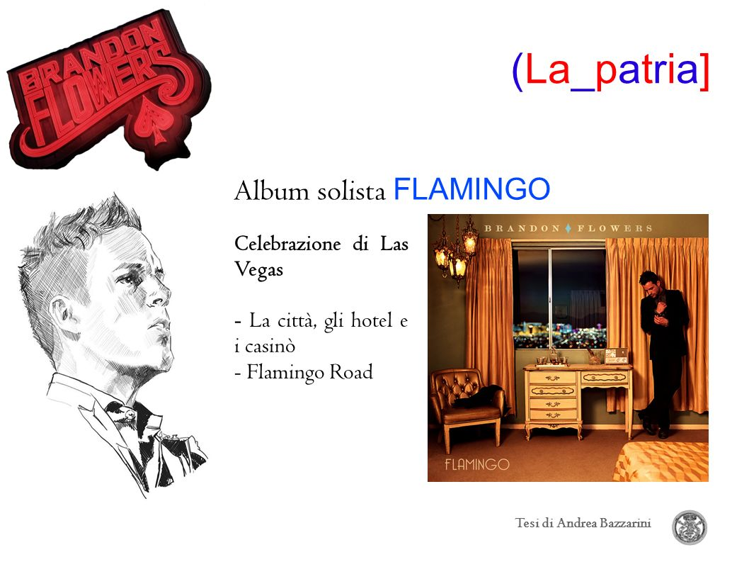 Album solista FLAMINGO