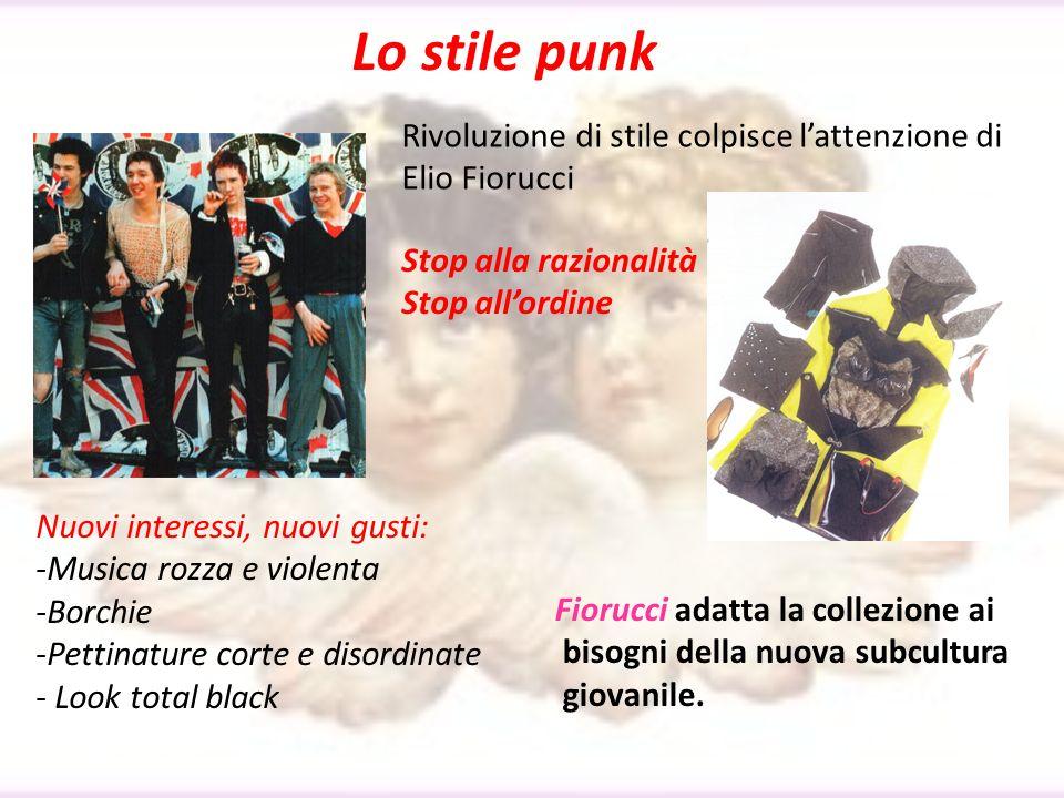 Lo stile punk Rivoluzione di stile colpisce l'attenzione di