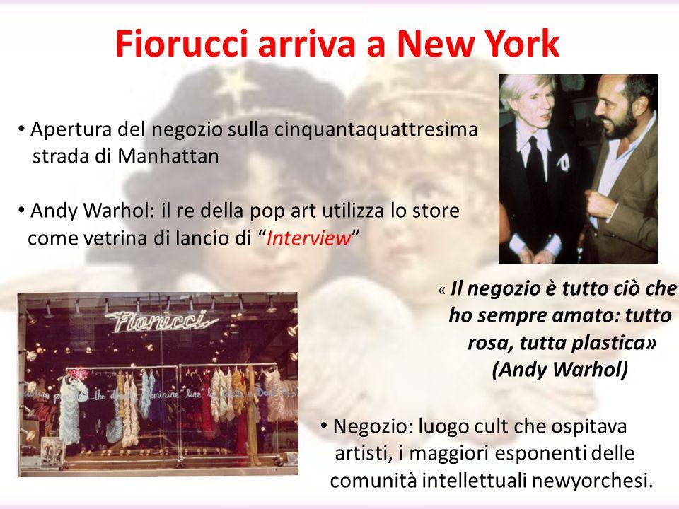 Fiorucci arriva a New York
